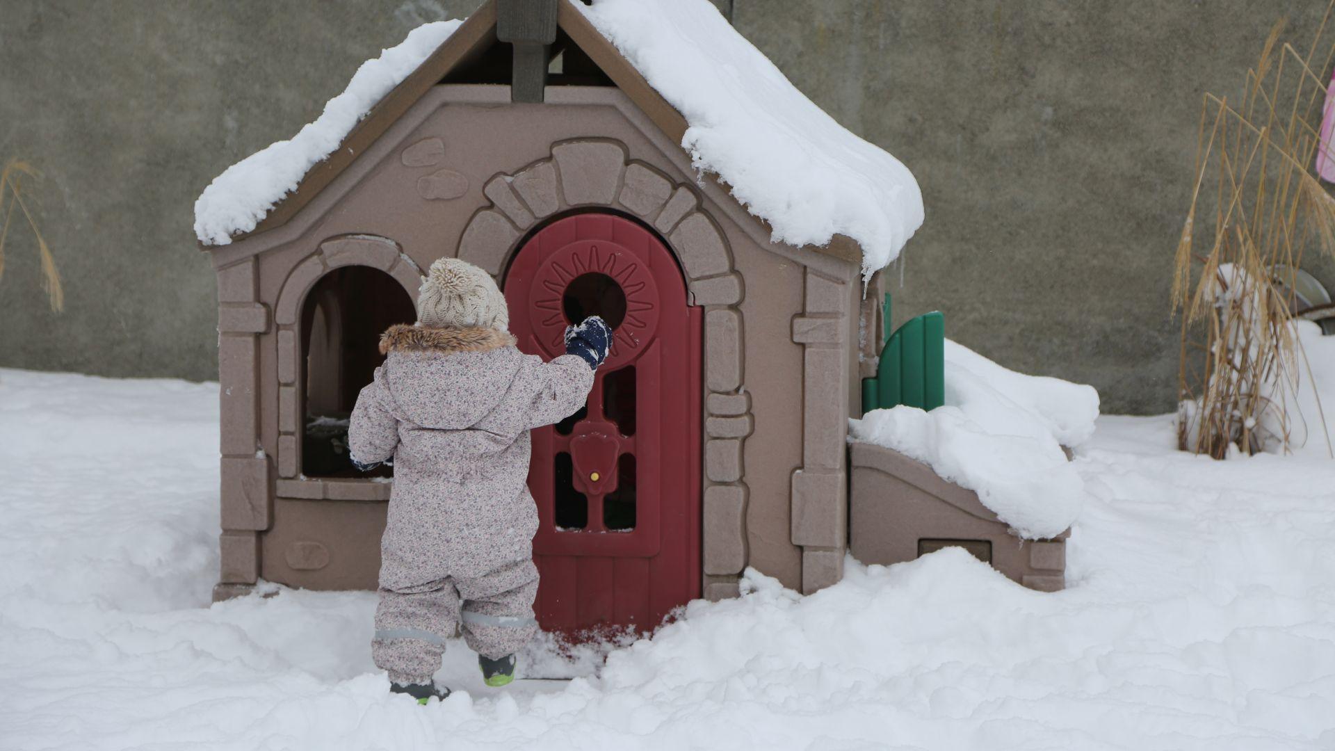 maisonnette hiver